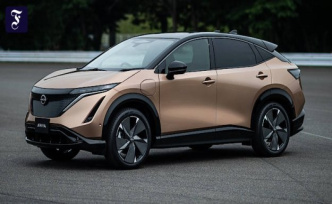 New electric car from Nissan: The Ariya is wearing the future
