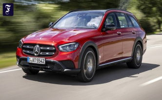 Test drive in the E-class: Mercedes a pure matter of form
