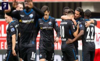 Second League: Paderborn comes into force in Osnabrück climbs