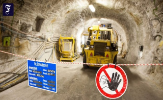 What to do with nuclear waste?: Breathe a sigh of relief in Gorleben cross drive in Bavaria