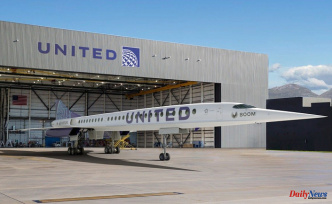 United Airlines will buy 15 Overture aircraft from Boom Supersonic