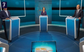 Triell on RTL: The beautiful glow