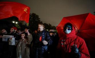 Communists stir against Vladimir Putin