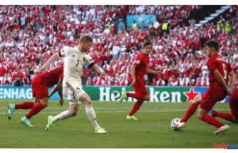 Belgium bests Denmark in Match marked by Eriksen tribute