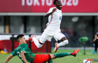 Mexico defeats France and Spain in the men's football tournament at Tokyo 2020