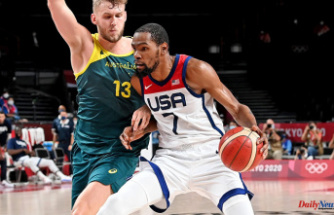 Basketball match between Team USA and Australia, Tokyo Olympics: Americans will face France in the gold medal game