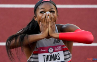 Olympics: Gabby Thomas qualified for the 200m final in 3rd fastest time