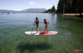 As wildfires worsen, future clarity of Lake Tahoe is in doubt