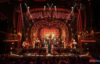 'Moulin Rouge! The Musical' returns home with 10 Tony Awards