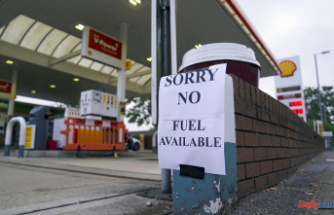 UK's gas stations are running dry due to trucker shortage