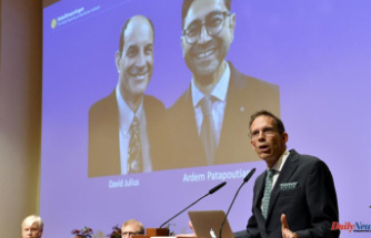 2 Medical Nobels for their research on heat and touch