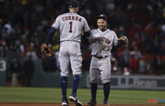 Astros wake up for 7 in 9th, beat Boston 9-2, tie ALCS 2-2