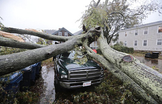Businesses and homes affected by the Nor'easter cut power by half a million.