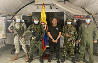 Colombia's most wanted drug lord is captured during a jungle raid