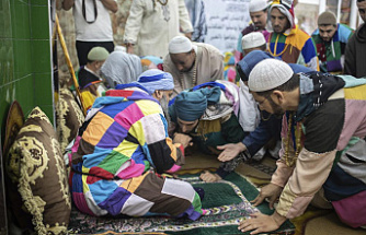 Finally, the Sufi religious order is able to meet again