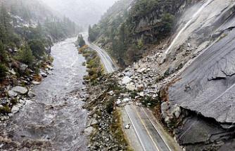 Major storm calms California drought-stricken