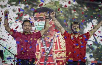 Manny Pacquiao, a boxer-senator, will run for Philippine president