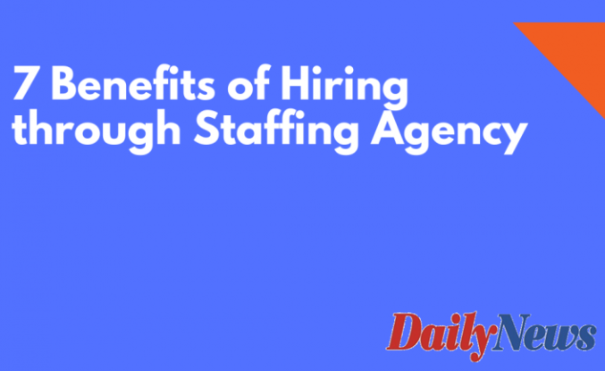 The Top 4 Benefits of Hiring Through a Staffing Agency