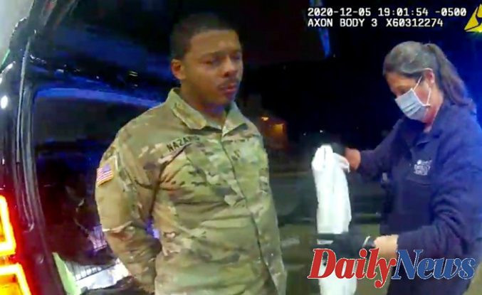 Virginia officer accused of force stop of Dark Army officer fired