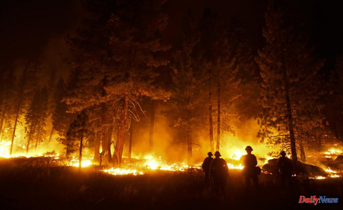 California wildfire fighters have hope in the face of changing winds