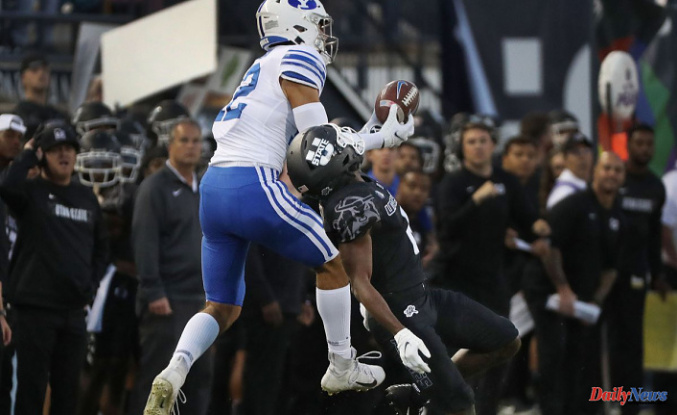 Three takeaways from No. 13 BYU during the Cougars' win over Utah State 34-20