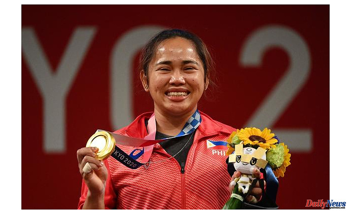 Hidilyn Diaz, a weightlifter from the Philippines, wins her first ever Olympic gold medal. This breaks the country's 97-year drought